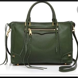 NWT Rebecca Minkoff Regan Leather Satchel